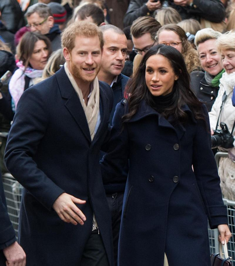 Prince Harry and Meghan Markle are said to have their hearts set on May 26th. Photo: Getty Images