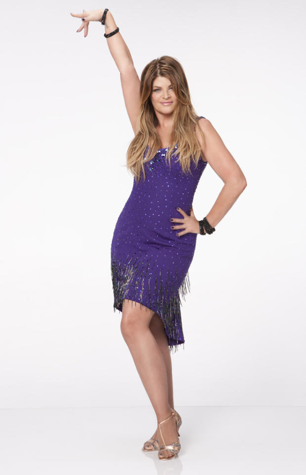 "Kirstie Alley will be dancing with Maksim Chmerkovskiy this fall on ABC's ""Dancing With the Stars: All-Stars,"" premiering September 24."