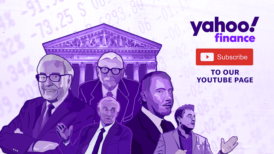Yahoo Finance is on YouTube.