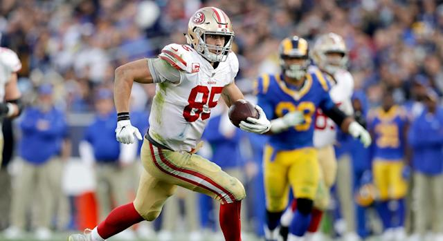 With numerous weapons and a full season from Jimmy Garoppolo, the 49ers' offense should leap forward this coming season.
