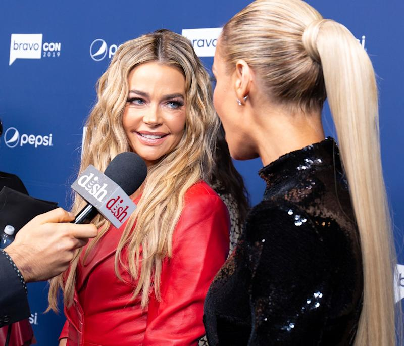 Denise Richards and co-star Dorit Kemsley at a Bravo event