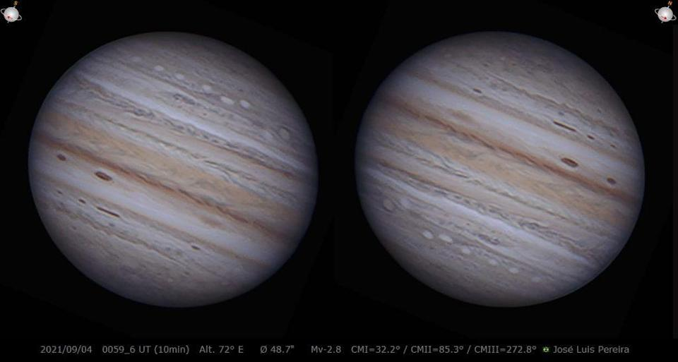 Jupiter explosion caught on video by an astrophotographer in Brazil