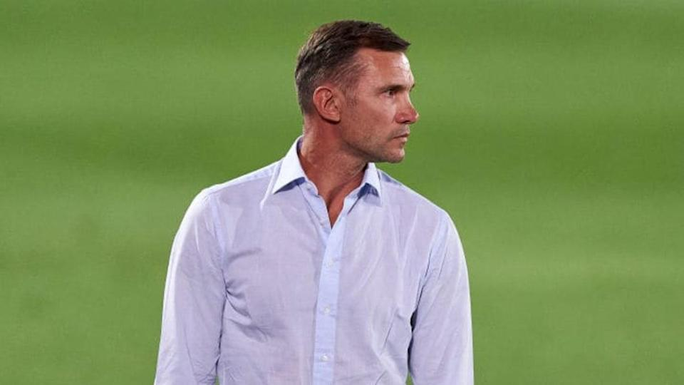 Il CT ucraino Shevchenko | Quality Sport Images/Getty Images
