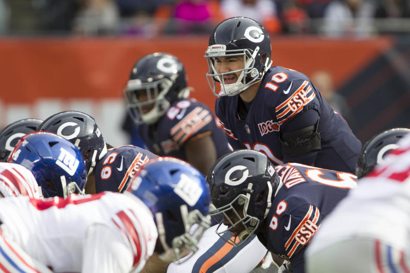 Giants remain 5.5-point road underdogs vs. Bears