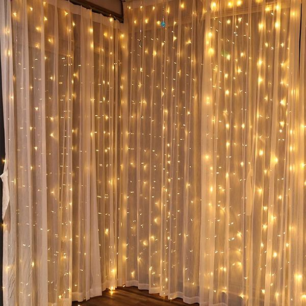 Brighten up your home with these glitzy lights. (Photo: Walmart)