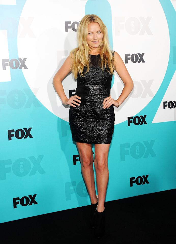 "Becki Newton (""The Goodwin Games"") attends the Fox 2012 Upfronts Post-Show Party on May 14, 2012 in New York City."