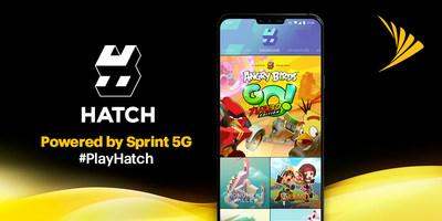 HATCH mobile cloud gaming, powered by Sprint 5G
