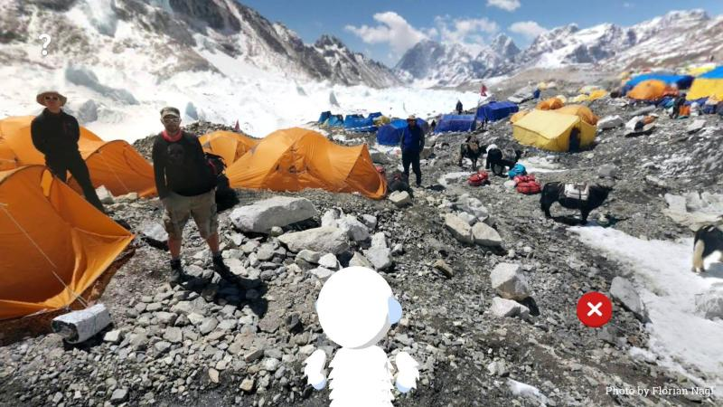 Explore Himalayas as Verne the Yeti with Google's experimental, educational app