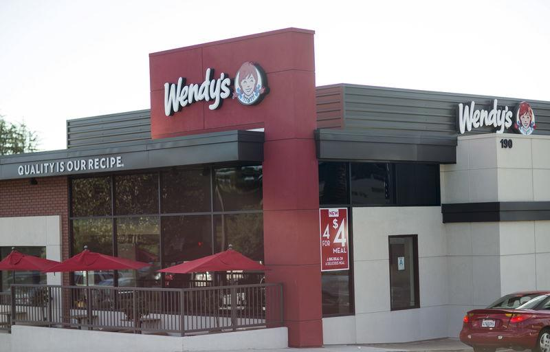 FILE PHOTO: A Wendy's Co restaurant is pictured in Monrovia