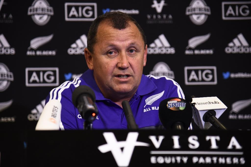 All Blacks assistant coach Ian Foster has re-signed with New Zealand Rugby, boosting his chances of being the next head coach of the world champions (AFP Photo/FILIPPO MONTEFORTE)
