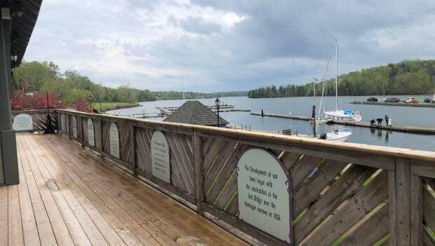 The riverfront in Montague has seen a lot of improvements recently, says Arsenault.