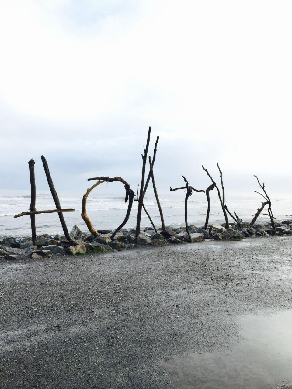 The cosy little coastal town of Hokitika is well worth a stop. Photo: Be