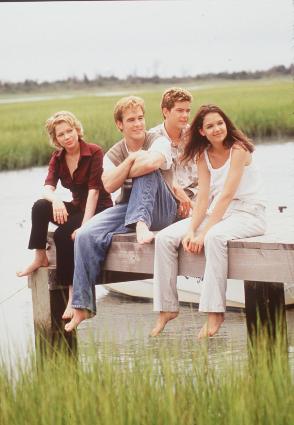 """<p>It's been more than 17 years since <em><a href=""""https://www.cosmopolitan.com/entertainment/tv/a15392674/dawsons-creek-pilot-thoughts/"""" rel=""""nofollow noopener"""" target=""""_blank"""" data-ylk=""""slk:Dawson's Creek"""" class=""""link rapid-noclick-resp"""">Dawson's Creek </a></em>ended on The WB, which the kids today know as The CW, but it's one of those teen dramas that's impossible to quit—and it just may be about to have a renaissance. Some of us (okay, me) were too young to watch <em>Dawson's Creek</em> when it aired the first time, but the series has lived on in the years since via DVD and streaming, and as of November 1, it's officially back on Netflix in full, even if the original Paula Cole theme song won't be playing at the beginning of each episode.</p><p>A <em>lot</em> has changed since <em>Dawson's Creek</em> signed off for the final episode in 2003. Some mega stars have been made from the series, like Katie Holmes and Michelle Williams, and the iPhone has been invented, along with a few other significant developments in society. </p><p>And of course, the cast themselves has changed, too, because two decades are a long time, after all.Before you begin your <em>Dawson's Creek</em> marathon, here's how the cast has changed since the series originally aired. </p>"""