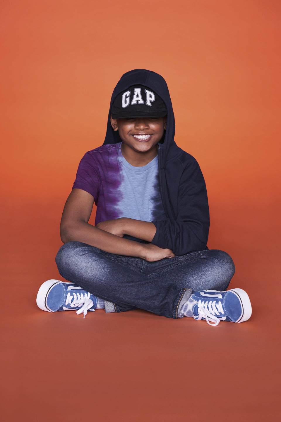 An image from the new GapKids campaign. - Credit: courtesy shot.