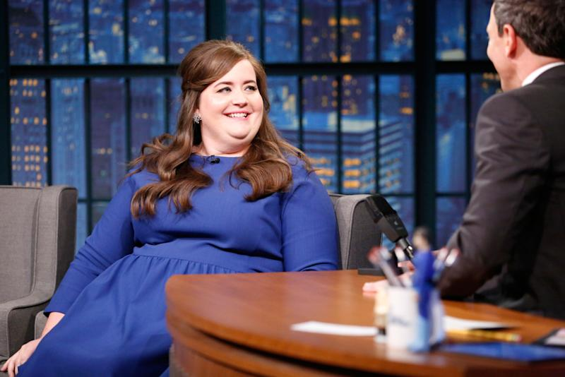 Aidy Bryant Thought Her Fiancé's Marriage Proposal Was a Joke