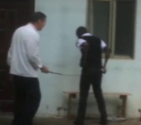 Video of Chinese man caning  Kenyan worker sparks outrage