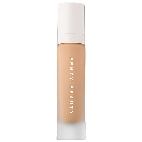"<p><em>Fenty Beauty Pro Filt'r Soft Matte Longwear Foundation, $34 </em></p><p><a class=""body-btn-link"" href=""https://www.sephora.com/product/pro-filtr-soft-matte-longwear-foundation-P87985432?om_mmc=ppc-GG_1533944608_60212794284_pla-294680686006_1925338_291191670138_9067609_c&country_switch=us&lang=en&gclid=EAIaIQobChMIq__tnoGP4QIVC18NCh0bfQ2qEAYYASABEgKnFPD_BwE&gclsrc=aw.ds"" target=""_blank"">SHOP IT</a></p><p>A Rihanna-approved foundation that diffuses every pore on your face and doesn't move all damn day? Yes, please. Not to mention that I use this foundation frequently, because my T-zone loves to get super shiny, and the bottle lasts me so long (!!!). </p>"