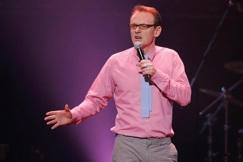 Witty in pink: Lock performing at the Albert Hall in 2009  (Getty)