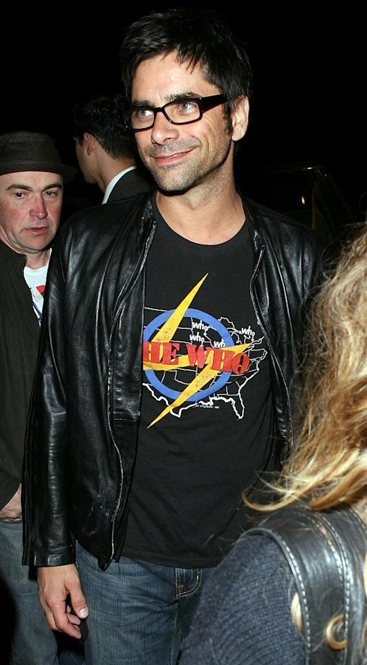 "John Stamos selects trendy frames for a night on the town. Cliff Sobel/<a href=""http://www.splashnewsonline.com"" target=""new"">Splash News</a> - March 27, 2007"