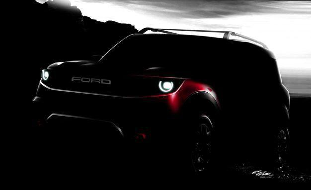 Ford's 2020 baby Bronco off-roader emerges in photos from dealer meeting