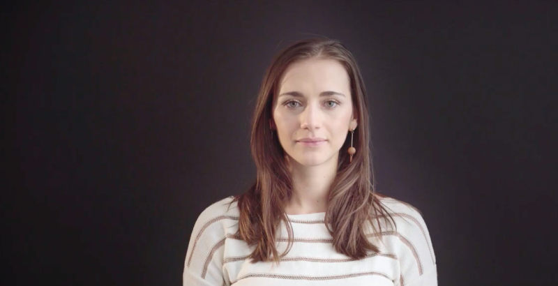 Grace Blakely appearing in an IPPR Youtube video titled 'Wealth Taxation Explained'. Photo: Screengrab/IPPR/Youtube