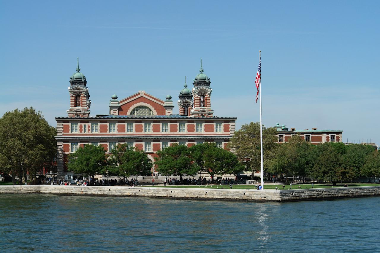 Built in 1900 by architects Edward Lippincott Tilton and William A. Boring, <strong>Ellis Island</strong> was once the gateway for over 12 million immigrants hoping to find a new home in the United States. Today, it is part of the Statue of Liberty National Monument.