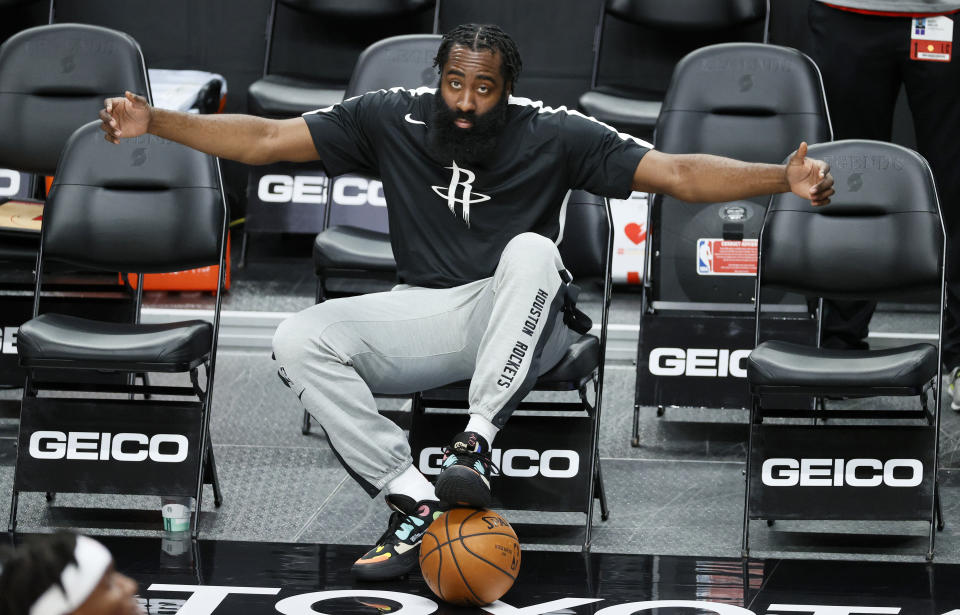 James Harden is taking a torch to the Houston Rockets. (Steph Chambers/Getty Images)