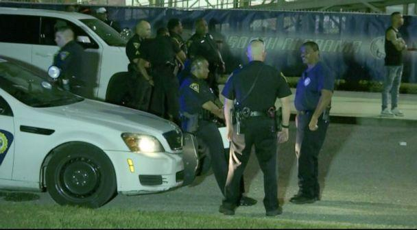 PHOTO: At least 10 people were injured in a shooting at a high school football game in Mobile, Alabama. (WALA)