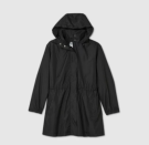 """<p><strong>Target</strong></p><p>target.com</p><p><strong>$35.00</strong></p><p><a href=""""https://www.target.com/p/women-39-s-plus-size-rain-jacket-ava-38-viv-8482-black-4x/-/A-79553146?ref=tgt_adv_XS000000&AFID=google_pla_df&fndsrc=tgtao&DFA=71700000012735151&CPNG=PLA_Women%2BShopping_Local%7CWomen_Ecomm_AA&adgroup=SC_Women_Local&LID=700000001170770pgs&LNM=PRODUCT_GROUP&network=g&device=c&location=1022762&targetid=pla-1218665563616&ds_rl=1246978&ds_rl=1248099&ds_rl=1241788&gclid=Cj0KCQjw0K-HBhDDARIsAFJ6UGjGBL8p2qVejkc89olZknngovuFAmvsR7teCxC_kv5BPW8abeuhz_0aAsbMEALw_wcB&gclsrc=aw.ds"""" rel=""""nofollow noopener"""" target=""""_blank"""" data-ylk=""""slk:Shop Now"""" class=""""link rapid-noclick-resp"""">Shop Now</a></p><p>Further proving that Target has <em>every</em><em>thing, </em>its shell rain jacket is made from a featherweight fabric that can easily be stowed away in your bag while traveling. Not to mention the super-affordable price point.</p>"""