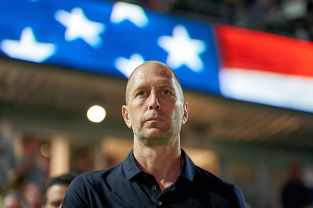 Gregg Berhalter has a plan for the United States men's national team, and Ecuador got to see it up close and personal. (Getty)