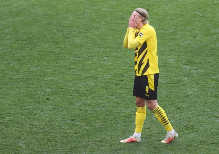 Erling Braut Haaland and Borussia Dortmund could miss out on Champions League football next season after Saturday's defeat to Eintracht Frankfurt