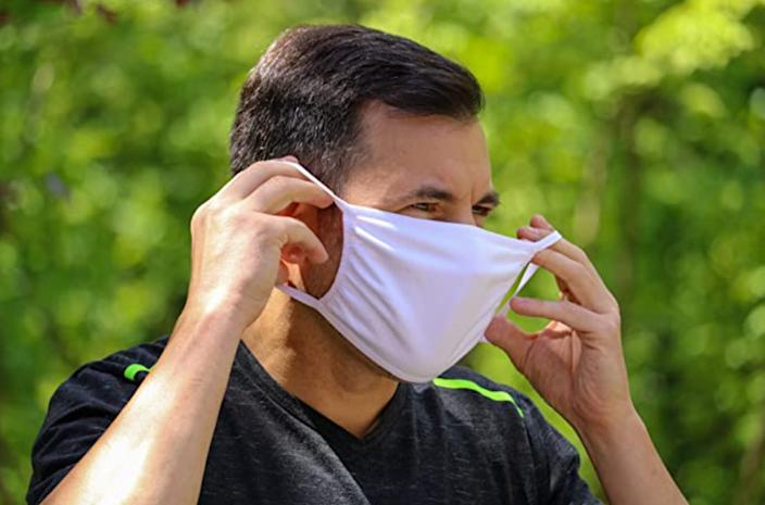 WD37U Reusable Cotton Face Mask (pack of 50). (Photo: Amazon)