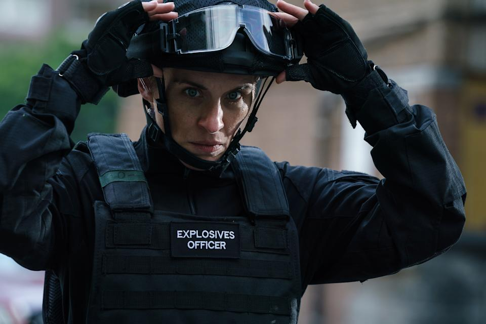 Trigger Point, starring Vicky McLure turns the spotlight on counter terrorism policing and the work of the Metropolitan Police Bomb Disposal Squad. (ITV)