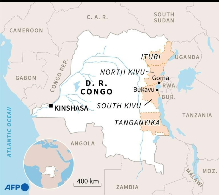 DR Congo's troubled eastern provinces