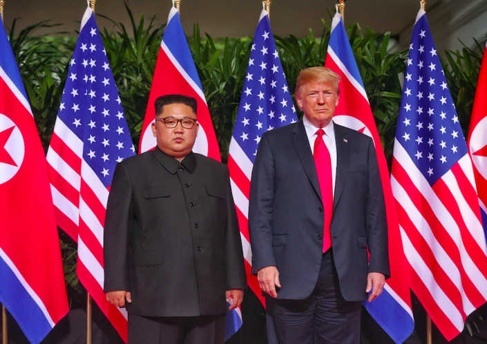<em>North Korea are said to be hopeful of a second summit with the United States (Rex)</em>