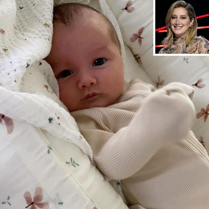 """<p>Tisdale celebrated her first Mother's Day with 6-week-old Jupiter, <a href=""""https://www.instagram.com/p/COp94RrF5H5/"""" rel=""""nofollow noopener"""" target=""""_blank"""" data-ylk=""""slk:sharing a series of photos and videos"""" class=""""link rapid-noclick-resp"""">sharing a series of photos and videos</a> of her daughter. </p> <p>""""This little lady made me a momma,"""" Tisdale wrote. """"I knew @cmfrench and I would have a cute baby but I wasn't expecting how beautiful she would be 😍❤️ . To be a mom You don't know how hard it is until you become one. Mothers you are truly goddesses and single moms you are my superheroes. The past 6 weeks have been such a blessing. Jupiter you are everything and more.""""</p> <p>Tisdale's husband, Christopher French, posted a tribute to the mama saying, """"Happy First Mother's Day to the love of my life! It blows me away every day, watching you instantly become the most incredible Mom. Thank you for creating our little Juju and bringing her into this world so lovingly 💘 you're an inspiration x."""" </p>"""