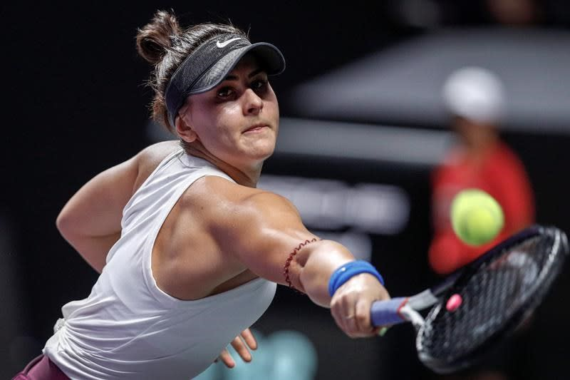 Andreescu out for rest of tennis season to focus on health and training