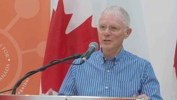 Craig Mackie is the executive director of the P.E.I. Association for Newcomers to Canada.   (Steve Bruce/CBC - image credit)