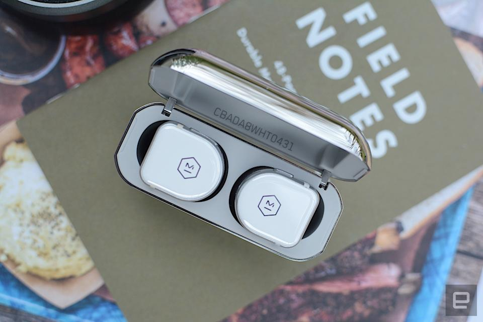 With its latest true wireless earbuds, Master & Dynamic continues to refine its initial design. The company improved its natural, even-tuned trademark sound to create audio quality normally reserved for over-ear headphones. There are some minor gripes, but M&D covers nearly all of the bases for its latest flagship earbuds, which are undoubtedly the company's best yet.