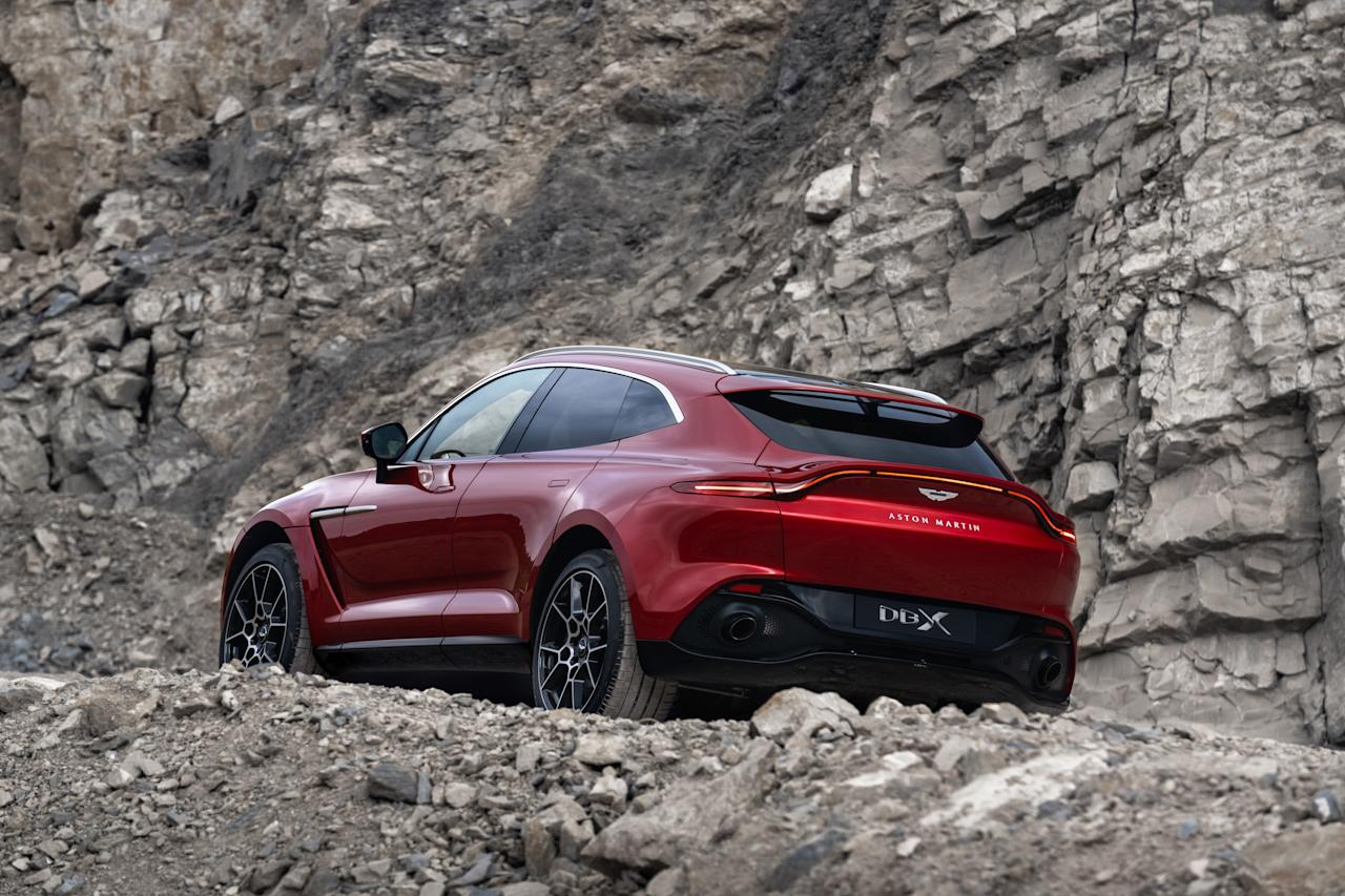 """The <a href=""""https://www.architecturaldigest.com/story/aston-martin-unveils-first-ever-suv?mbid=synd_yahoo_rss"""">first-ever SUV</a> from the venerable British brand promises to be capable, fast, alluring, coddling, excessive, and exclusive—six of our favorite adjectives. It joins a growing coterie of six-figure ultra-luxury SUVs."""