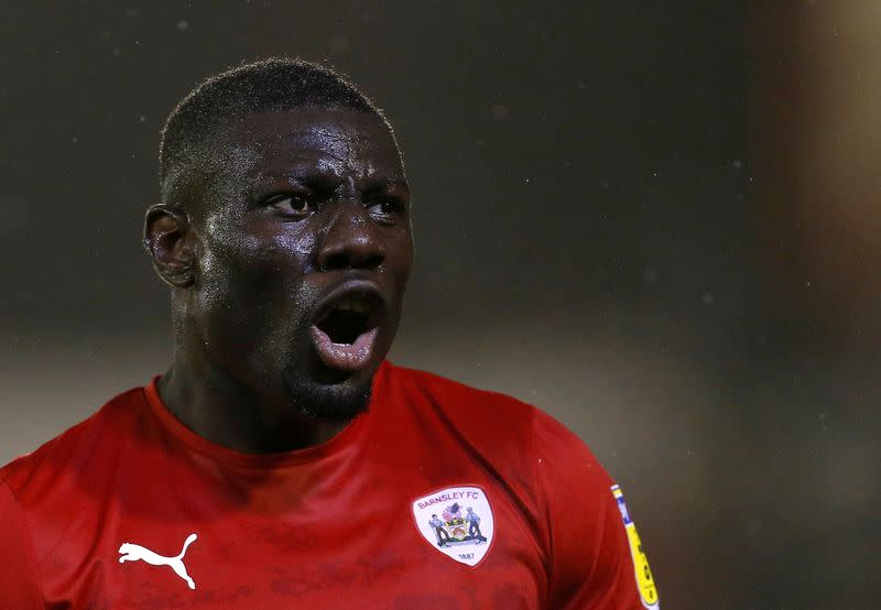 Barnsley defender Diaby banned for two years over doping offence