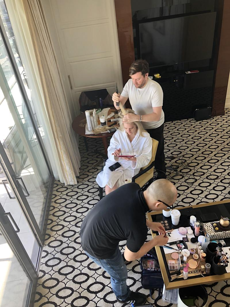 Makeup Artist Daniel Martin Takes Allure Behind the Scenes of His