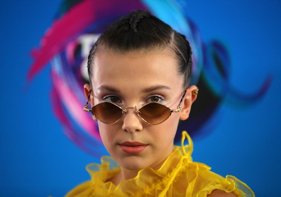 2017 Teen Choice Awards – Arrivals – Los Angeles, California, U.S., 13/08/2017 - Actress and model Millie Bobby Brown. REUTERS/Mike Blake     TPX IMAGES OF THE DAY