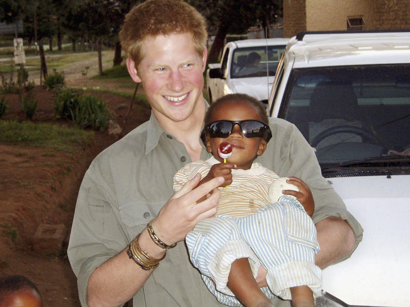 Prince Harry once said Africa allowed him to 'feel more like himself than anywhere else in the world' after spending a gap year in Lesotho in 2004. Photo: Getty Images