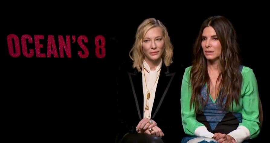 The actresses discuss their new movie and the pressure on delivering a female-led film