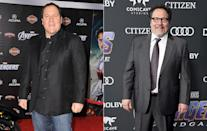 <p>Filmmaker Jon Favreau retains a producer credit on all Avengers films thanks to the crucial part he played in launching the MCU with <i>Iron Man</i> and <i>Iron Man 2</i>. (Getty Images) </p>