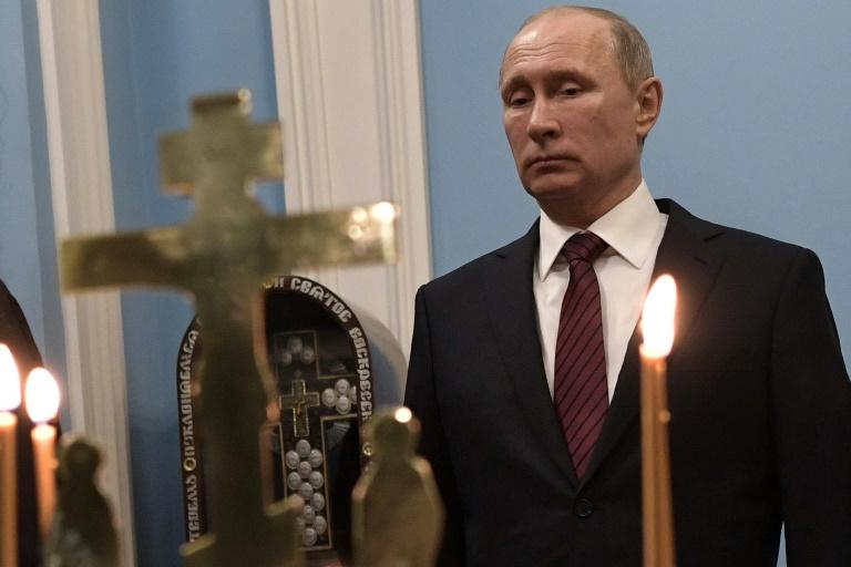Putin is fortifying already strong ties with the church ahead of presidential elections in March