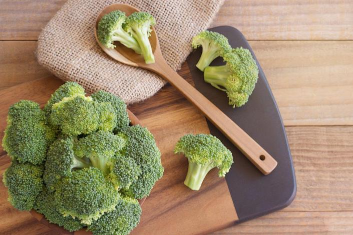 """<p>""""Crunchy, cruciferous vegetables like these are loaded with fiber so they help fill you up without adding a lot of extra calories,"""" says <a href=""""https://www.autumncalabrese.com/"""" rel=""""nofollow noopener"""" target=""""_blank"""" data-ylk=""""slk:Autumn Calabrese"""" class=""""link rapid-noclick-resp"""">Autumn Calabrese</a>, <a href=""""https://www.beachbodyondemand.com/blog/21-day-fix-hub-meet-autumn"""" rel=""""nofollow noopener"""" target=""""_blank"""" data-ylk=""""slk:Beachbody"""" class=""""link rapid-noclick-resp"""">Beachbody</a> and celebrity fitness trainer. This <a href=""""https://www.prevention.com/food-nutrition/recipes/a20488577/roasted-broccoli-with-orange/"""" rel=""""nofollow noopener"""" target=""""_blank"""" data-ylk=""""slk:Roasted Broccoli with Orange"""" class=""""link rapid-noclick-resp"""">Roasted Broccoli with Orange</a> is the pop of flavor your dinner table has been waiting for.</p>"""