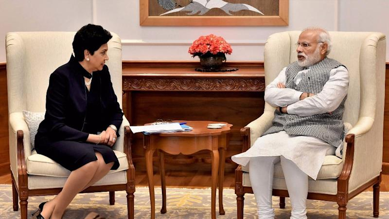 PepsiCo's Nooyi Meets Modi, Offers Help to Meet Development Goals