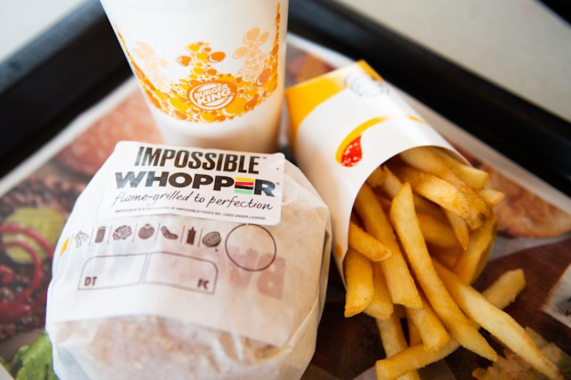 A vegan man claims Burger King cooked Impossible Whopper alongside meat